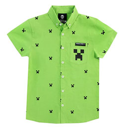 Camisa Minecraft