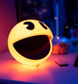 Lámpara con sonido Pacman