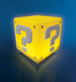 Lámpara Super Mario Bros