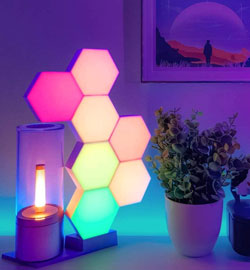 Luces ambiente youtuber